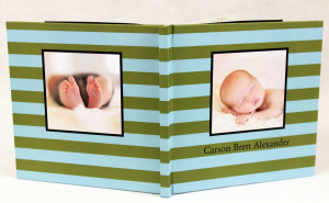 MyCanvas product - baby book
