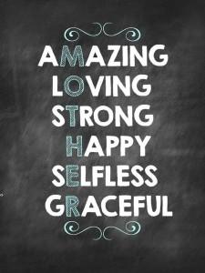 Amazing Loving Strong