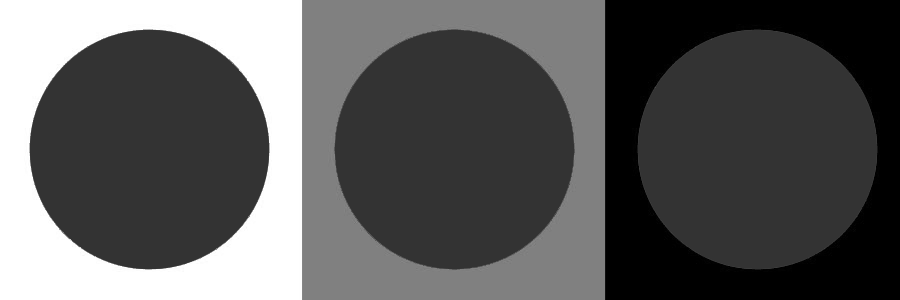 By Presenting The Color On A Neutral Shade You Can See True Whereas Portraying Black Or White Etc Effects How Appears