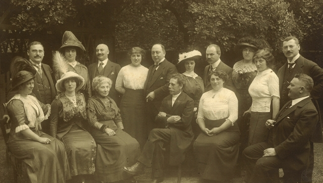 Photo 3 - Benno Bodenheimer with family circa 1915 - small