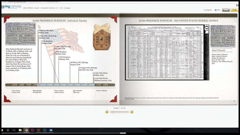 how to import ancestry information to family search