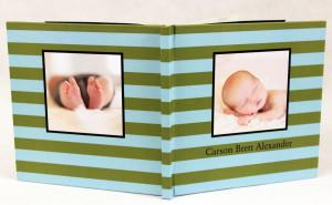 MyCanvas product - baby book