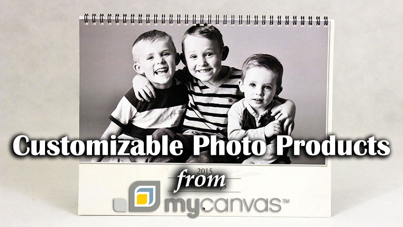 mycanvas customizable photo products