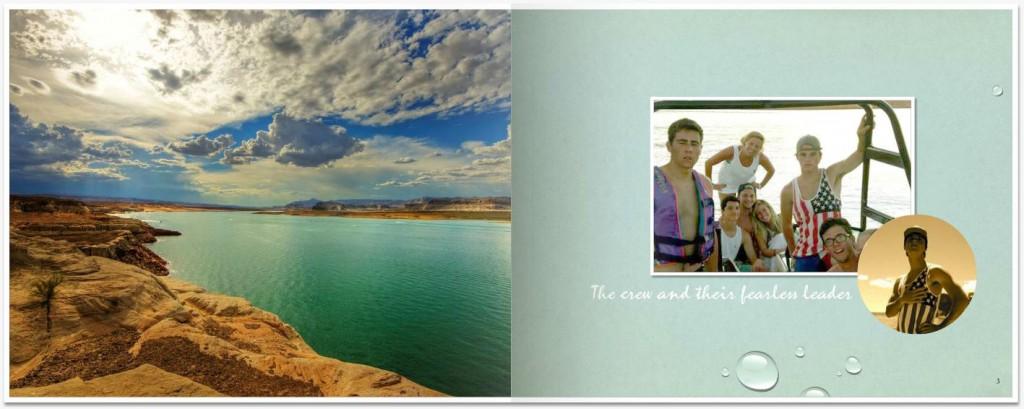 spring break photo album book