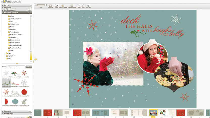 mycanvas-christmas-page