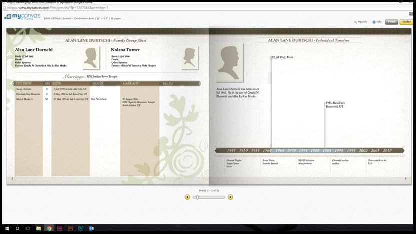mycanvas-family-history-book-combination-information