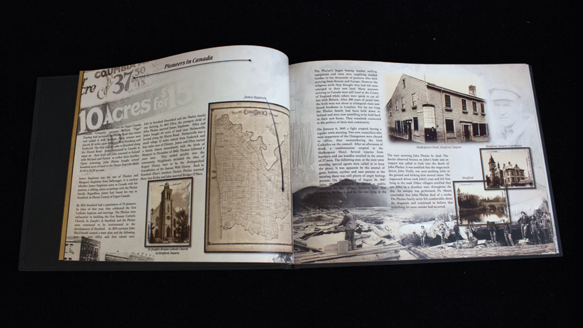 Family History Crafts: genealogy book